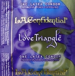 Love Triangle™ - Ribbed-Studded-Contoured Condom